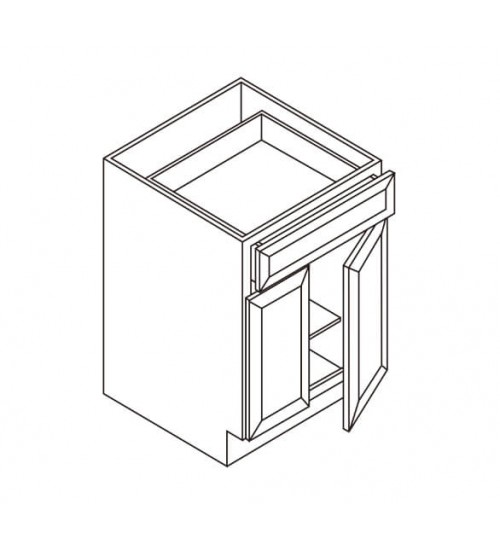 Base 1 Drawer 2 Doors – 5