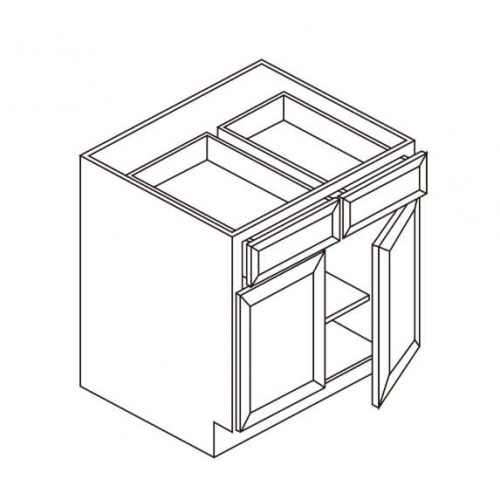 Base 2 Drawer 2 Doors – 6