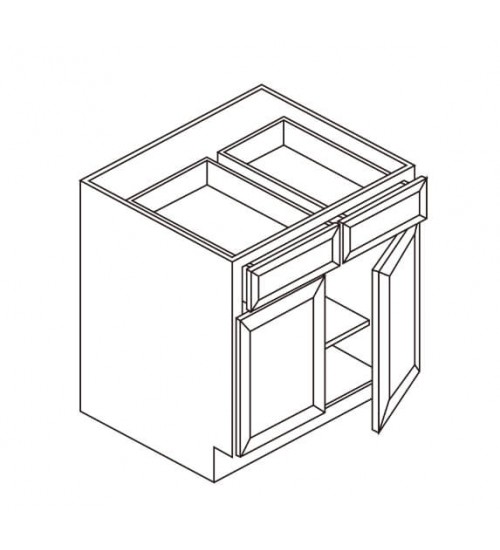 Base 2 Drawer 2 Doors – 5
