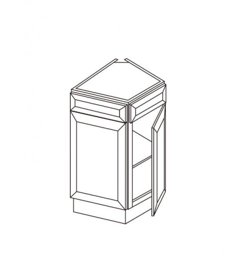 "Base End One Door Corner -24""W x 24""D – 8"