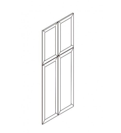 Pantry Dummy Doors – 4 Doors With Pre-drilled Hinges. No Frame – 8