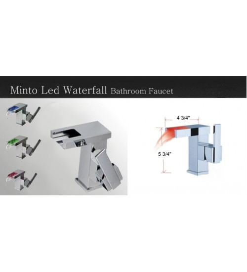 Minto – LED Bathroom Faucet