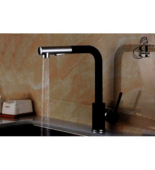 Jasper Pullout-Black- Kitchen Faucet