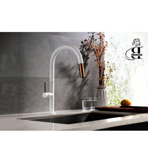 Mason Pulldown-White- Kitchen Faucet