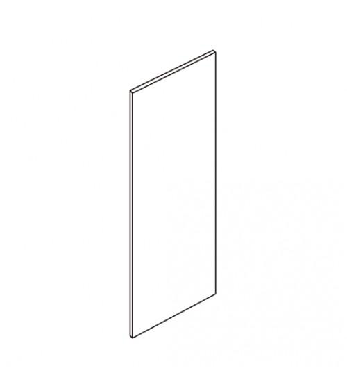 "Refrigerator End Panel 96"" H x 48""W x 3/4"" thick plywood, no return - 1"