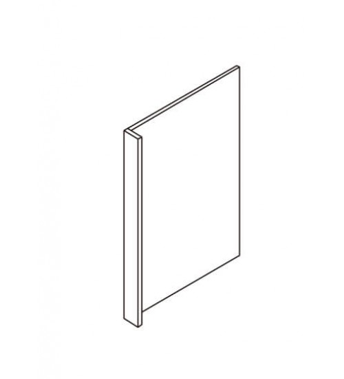 "Refrigerator End Panel 27"" * 84"" With 3"" Return Filler – 5"