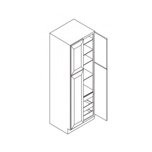 "Wall Pantry 4 Doors 24""W x 27""D – 3"
