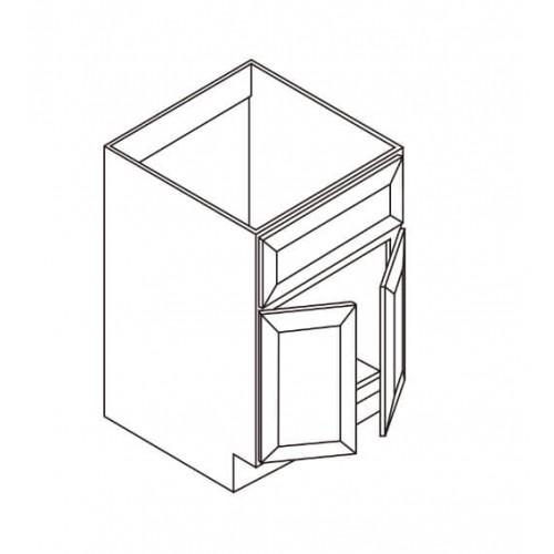 """Vanity Sink Base – Only 2 Doors – 24"""" W – 3"""