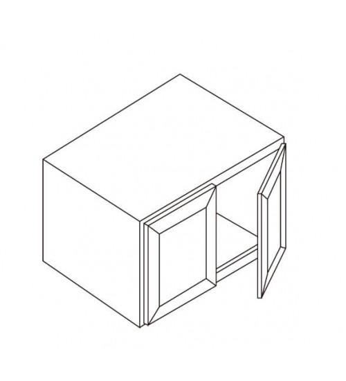 """Refrigerator wall Cabinet 36""""W x 27""""D – 4"""