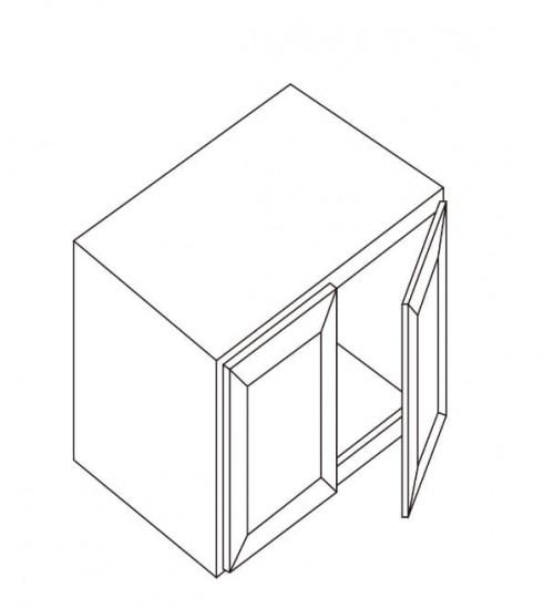 """Refrigerator Wall Cabinet  33""""W x 27""""D – 1"""