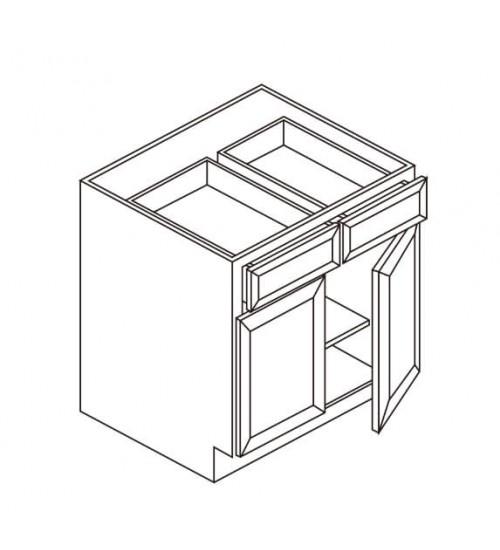 Base 2 Drawer 2 Doors – 6