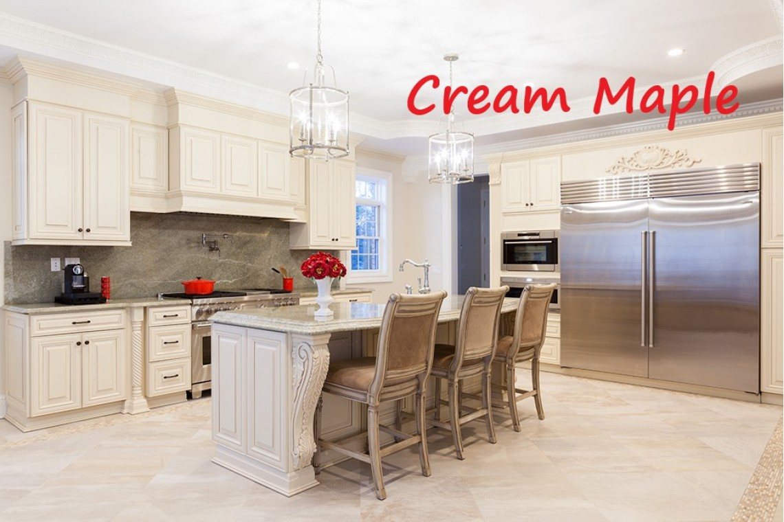 cream maple